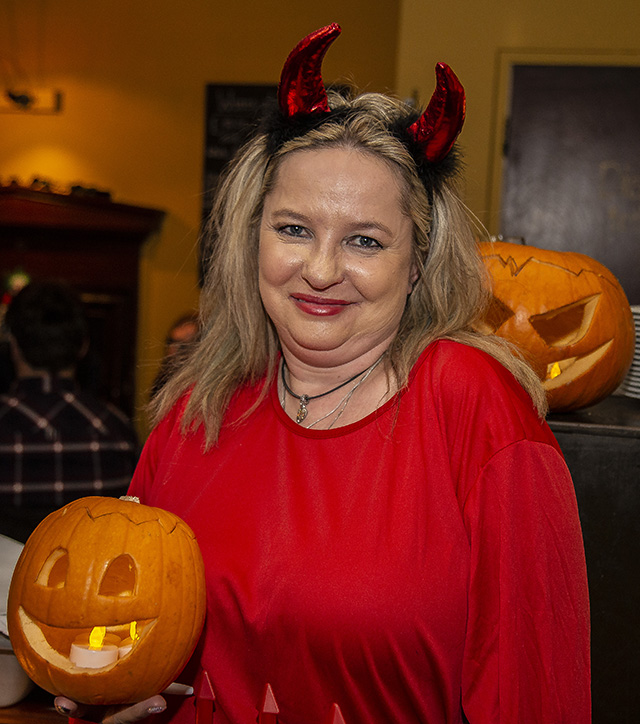 Halloween Smiles at Mustard Seed Restaurant