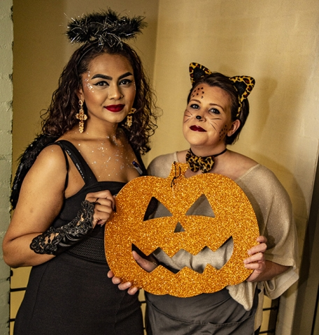 Halloween service at Mustard Seed