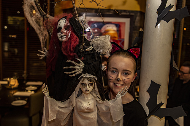 The Mustard seed Restaurant loves Halloween